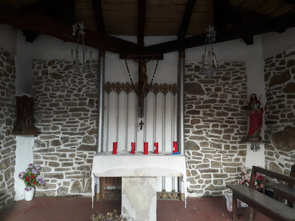 Interior de la Ermita de Santo Tomás en Areatza