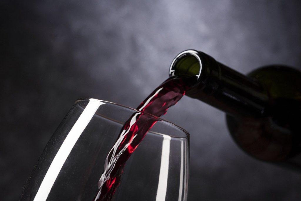 Postres con vino