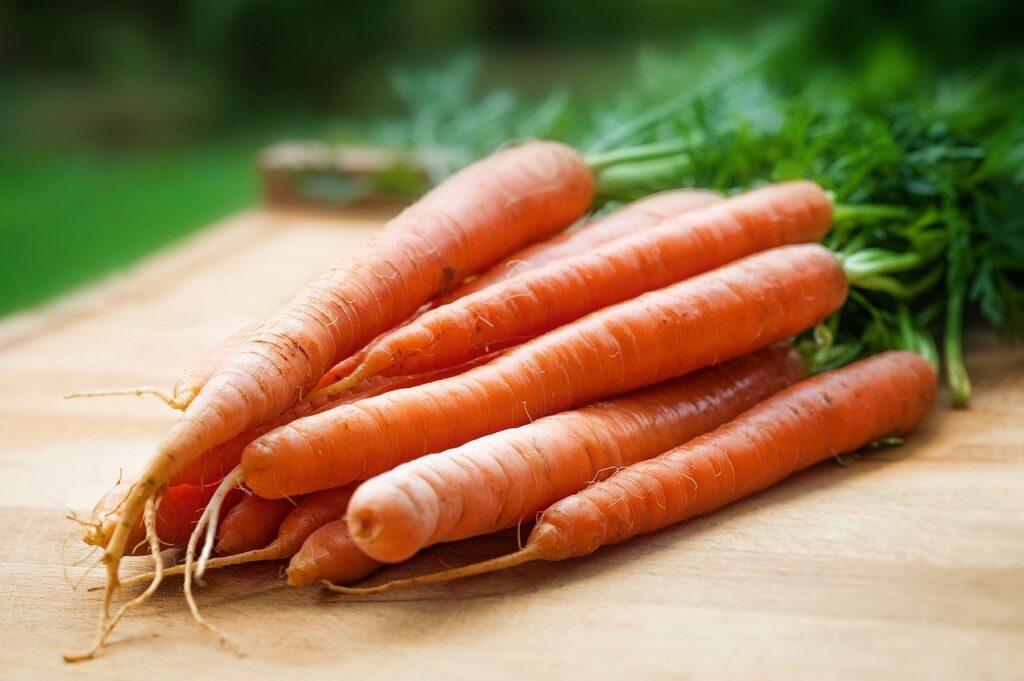 La zanahoria debe estar en nuestra dieta semanal