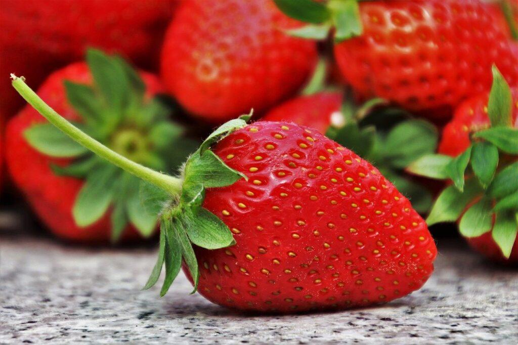 Las fresas son buenas para la salud